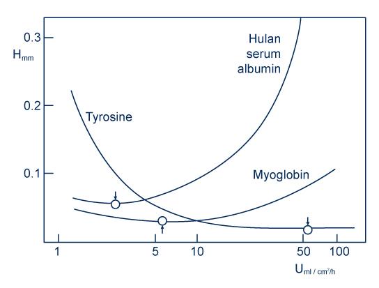 Van Deemter curve