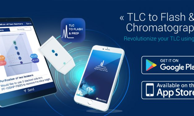 """Already over 2K downloads of our App """"TLC to Flash & Prep chromatography"""", get yours!"""