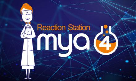 Mya 4 Reaction Station from Radleys, use the most innovative system on the market !