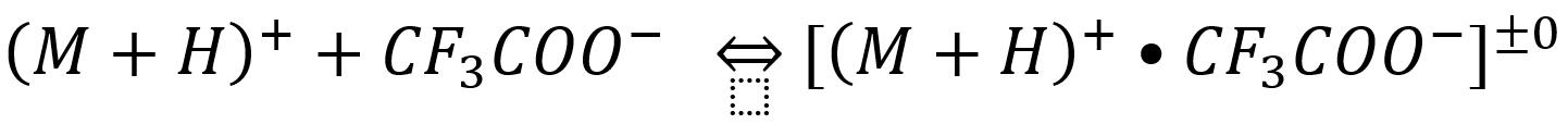 TFA & signal MS equilibrium