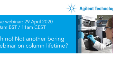 Oh no! Not another boring webinar on column lifetime from Agilent?