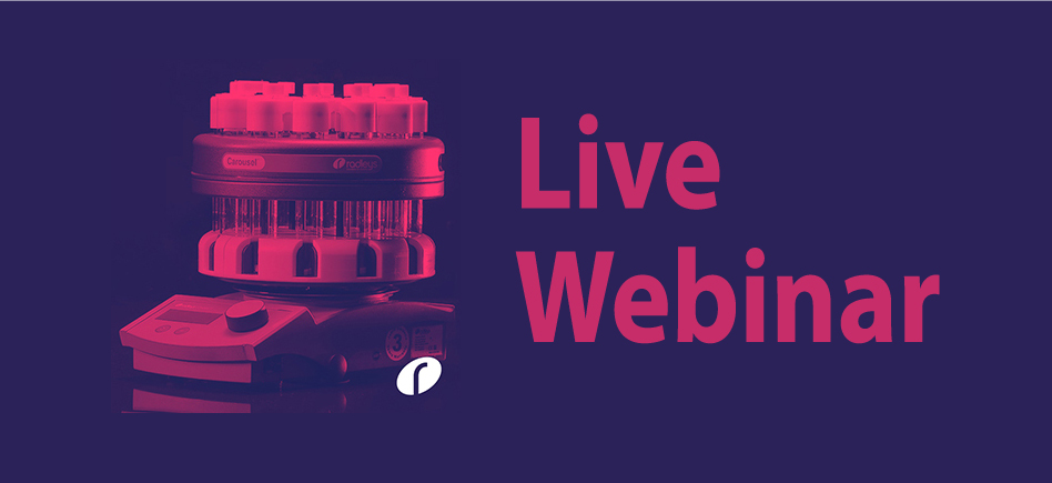 Radleys webinar: Introducing – Productivity and Parallel Chemistry tools